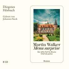 Martin Walker: Menu surprise, 8 CDs