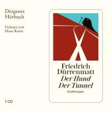 Friedrich Dürrenmatt: Hund / Tunnel / Panne, 3 CDs