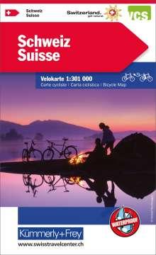 KuF Schweiz Radreisekarte 1 : 301 000, Diverse