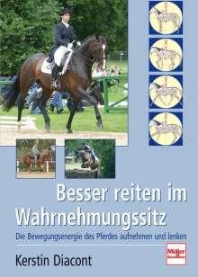 Kerstin Diacont: Besser reiten im Wahrnehmungssitz, Buch