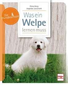 Petra Krivy: Was ein Welpe lernen muß, Buch