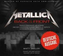 Matt Taylor: Metallica: Back to the Front, Buch