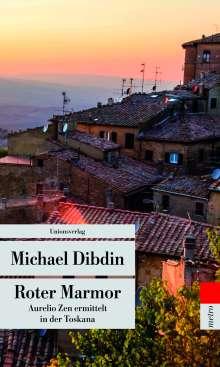 Michael Dibdin: Roter Marmor, Buch
