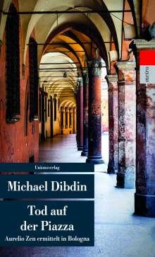Michael Dibdin: Tod auf der Piazza, Buch