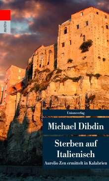 Michael Dibdin: Sterben auf Italienisch, Buch