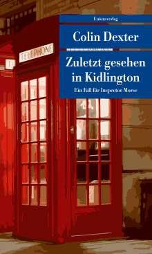 Colin Dexter: Zuletzt gesehen in Kidlington, Buch