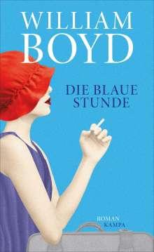 William Boyd: Die blaue Stunde, Buch