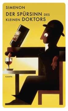 Georges Simenon: Der Spürsinn des kleinen Doktors, Buch