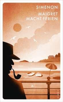 Georges Simenon: Maigret macht Ferien, Buch