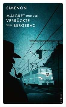 Georges Simenon: Maigret und der Verrückte von Bergerac, Buch