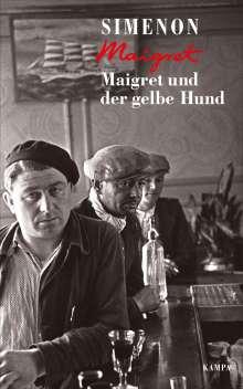 Georges Simenon: Maigret und der gelbe Hund, Buch