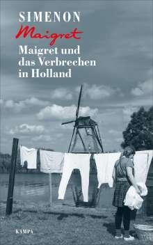 Georges Simenon: Maigret und das Verbrechen in Holland, Buch