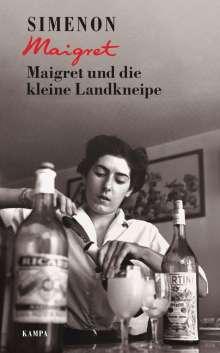 Georges Simenon: Maigret und die kleine Landkneipe, Buch