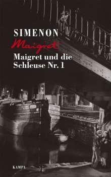 Georges Simenon: Maigret und die Schleuse Nr. 1, Buch