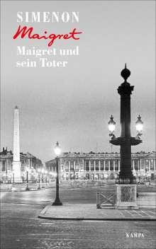 Georges Simenon: Maigret und sein Toter, Buch