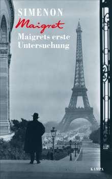 Georges Simenon: Maigrets erste Untersuchung, Buch