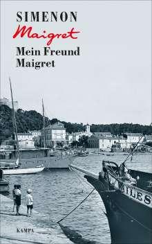 Georges Simenon: Mein Freund Maigret, Buch