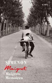Georges Simenon: Maigrets Memoiren, Buch