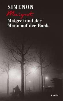 Georges Simenon: Maigret und der Mann auf der Bank, Buch