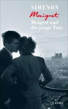 Georges Simenon: Maigret und die junge Tote, Buch