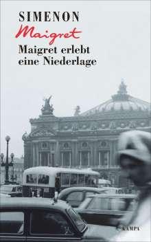 Georges Simenon: Maigret erlebt eine Niederlage, Buch