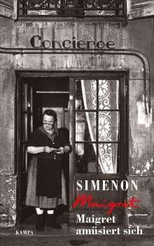 Georges Simenon: Maigret amüsiert sich, Buch