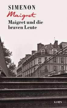 Georges Simenon: Maigret und die braven Leute, Buch