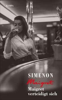 Georges Simenon: Maigret verteidigt sich, Buch