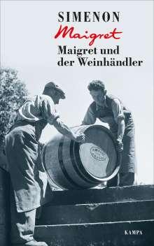 Georges Simenon: Maigret und der Weinhändler, Buch
