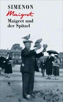 Georges Simenon: Maigret und der Spitzel, Buch