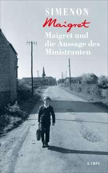 Georges Simenon: Maigret und die Aussage des Ministranten, Buch
