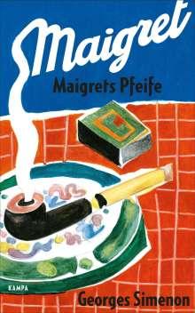 Georges Simenon: Maigrets Pfeife, Buch