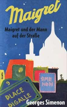 Georges Simenon: Maigret und der Mann auf der Straße, Buch