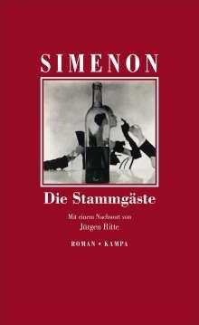 Georges Simenon: Die Stammgäste, Buch