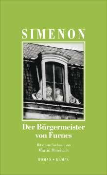 Georges Simenon: Der Bürgermeister von Furnes, Buch