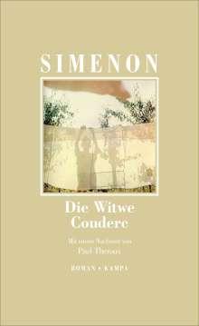 Georges Simenon: Die Witwe Couderc, Buch