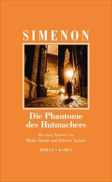 Georges Simenon: Die Fantome des Hutmachers, Buch