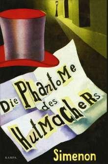 Georges Simenon: Die Phantome des Hutmachers, Buch