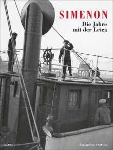 Georges Simenon: Die Jahre mit der Leica, Buch