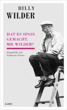 Hat es Spaß gemacht, Mr. Wilder?, Buch