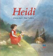 Johanna Spyri: Heidi Spanisch, Buch