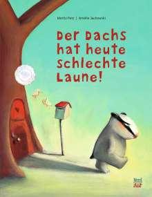 Moritz Petz: Der Dachs hat heute schlechte Laune, Buch