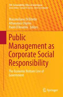 Public Management as Corporate Social Responsibility, Buch