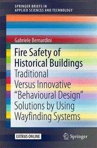 Gabriele Bernardini: Fire Safety of Historical Buildings, Buch