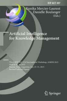 Artificial Intelligence for Knowledge Management, Buch