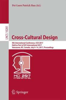 Cross-Cultural Design, Buch