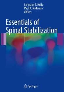 Essentials of Spinal Stabilization, Buch