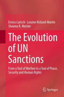 Enrico Carisch: The Evolution of UN Sanctions, Buch