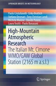 Paolo Cristofanelli: High-Mountain Atmospheric Research, Buch