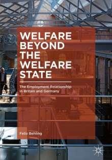 Felix Behling: Welfare Beyond the Welfare State, Buch